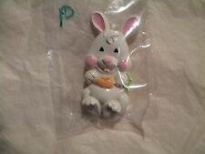 Vintage AVON Fragrance Glace Pin~White Rabbit  # 10