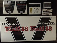 CT70 H Trail 88 Custom CT88H  frame decals, graphics, Complete Set!!