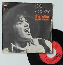 "Vinyle 45T Joe Cocker  ""The letter"""