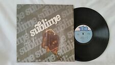 SUBLIME - SUBLIME SELF TITLED - VINTAGE 1977 COLLECTIBLE TR RECORDS LP - TR-131