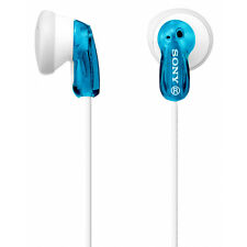 Sony In-Ear Cuffie Auricolari Cuffie Per Lettore mp3 iPod iPhone blu MDRE 9-lz