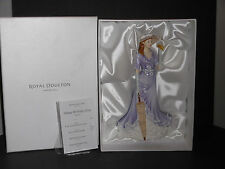 "SIGNED ROYAL DOULTON PRETTY LADIES 2014 HAPPY BIRTHDAY FIGURINE HN 5672 9"" NIB"
