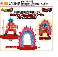 Banpresto DRAGON BALL Z SSGSS Son Goku/Gokou Blue Hair only left Complete DBZ323