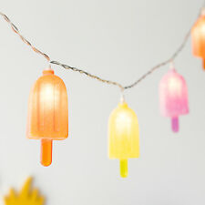 8 Ice Lolly Battery Operated Indoor LED Fairy String Lights Party Decoration