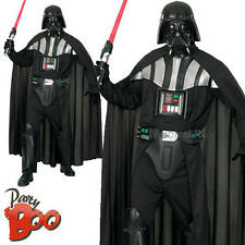 Mens Deluxe Darth Vader XL Star Wars Fancy Dress Adults Movie Character Costume
