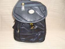 Taschen Rucksack-Rindleder-Schwarz-für vollanspruchvoll Damen Marke Artikel