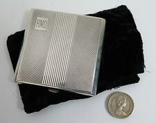 Art Deco silver ladies loose powder compact Birmingham 1920