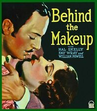 "William POWELL ""Behind the Make-Up"" - Fay Wray rare 1930 Vaudeville movie! - DVD"