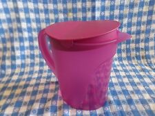 Tupperware Impressions  Jumbo 1 gallon pitcher  New Purple