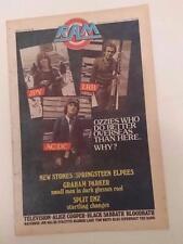 RAM Magazine  #88   july 14  1978 JPY , LRB , AC/DC
