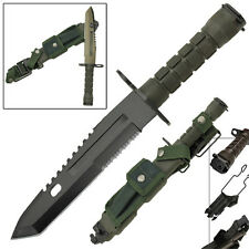 Resistance Combat Military Defense Special Ops Bayonet Tactical Survival Knife