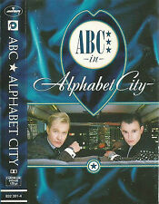 ABC ALPHABET CITY CASSETTE DUTCH MERCURY issue SYNTHPOP NEW WAVE 11 TRACK ALBUM