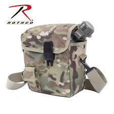 1264 Rothco MOLLE 2 QT. Bladder Canteen Cover - MultiCam