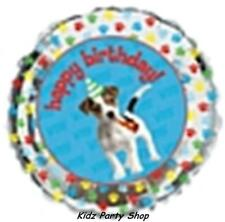 """Paw-ty Time Birthday Party - 18"""" Foil Balloon - Free Post in UK"""
