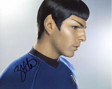 Zachary Quinto Star Trek Spock Autograph Autographed Signed Photo