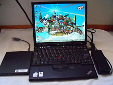 "ThinkPad X61s 12.1"" 1.6GHz 2GB RAM120G SSD slim DVD writer Dead Battery"