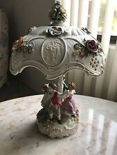 Dresden Lamp Vintage Antique