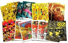 16 MARTIN SHARP Psychedelic poster/postcards Dylan Hendrix Use as Xmas cards?