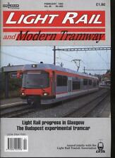 LIGHT RAIL AND MODERN TRAMWAY MAGAZINE - February 1993 - Vol. 56 - No. 662