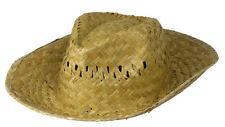 Stroh-Hut Paglietta Sommerhut Sonnenschutz Cowboy Fasching Karneval Panama-Hut