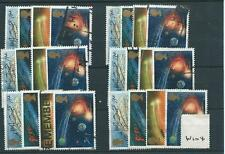 GB-commemoratives - 1986-W104-sei Set-halleys COMET-USATO
