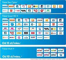 TELEWIZJA NA KARTE NC+ SMART HD Z DEKODEREM CYFROWY POLSAT 1 MIESIĄC FREE