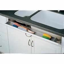 Rev-A-Shelf 6551-36-11-50 6551 Series 36 Inch Wide Sink Front Tip-Out Tray