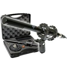 "Vidpro XM-55 13-piece 11"" Condenser Shotgun Video & Broadcast Pro Microphone Kit"