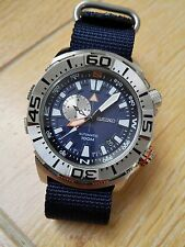 Seiko Superior Compass Automatic Diver 100m Dual crown Monster case