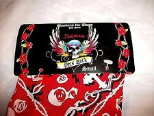 Bret Michaels Pet Rocks Bandana for Dogs size Small Patterned New FREE Shipping