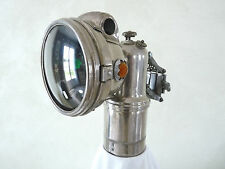 Lanterne acétylène LUXOR Type 401 Lampe carbure vélo ancien bicycle carbid lamp