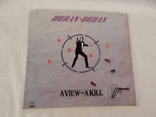 "Duran Duran ""A View To a Kill"" PICTURE SLEEVE! MINT! ONLY NEW COPY ON eBAY!"