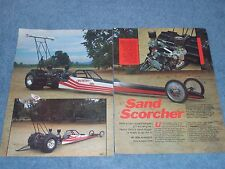 """1985 Sand Dragster Volkswagen Powered """"Sand Scorcher"""" VW Supercharged"""