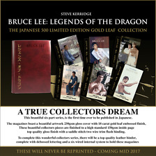 PRE ORDER 'BRUCE LEE LEGENDS OF THE DRAGON' – LIMITED EDITION GOLD LEAF JAPANESE