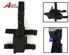 NEW Tactical Military Airsoft Pistol Gun Drop Leg Thigh Holster Right Hand Black