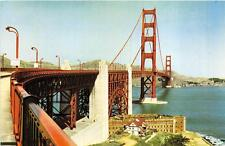 GOLDEN GATE BRIDGE SAN FRANCISCO CALIFORNIA UNION PACIFIC RAILROAD POSTCARD