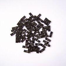 "200 PCS Black Mini Jumper with Handle 2.54mm 0.1"" Pin Header Spacing Shunt P34"