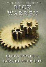 God's Power to Change Your Life (Living with Purpose) Rick Warren FREE SHIPPING