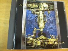 SEPULTURA CHAOS A.D. CD