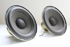 "1961 Fisher XP-3 Speaker Parts : 8"" Mids - Good Condition / Very Rare / Reformed"
