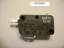 New Microwave Oven SZM-V16-FA-62 FA62 Door Micro Switch Normally Close DR47