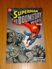 SUPERMAN DOOMSDAY WARS BOOK 2 DC COMICS DAN JURGENS GN