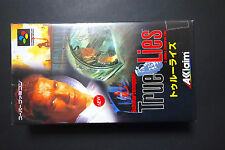 Brand NEW ! TRUE LIES Nintendo Super Famicom SFC NEUF