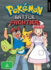 Pokemon - Battle Frontier : Season 9 (DVD, 2011, 6-Disc Set) brand new + sealed