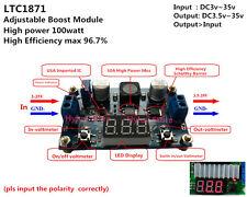 DC 100w Step up Boost Voltage Spannungsregler 5/12V 19/24V Adjust Schaltregle