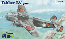 Valom 1/72 Model Kit 72102 Fokker T.5 Late (Dutch)