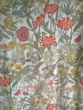 "Vintage John Lewis Jonelle Lined Curtains 63""x56"" ESME Pretty Floral Botanical"