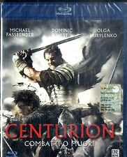 CENTURION (Combatti o Muori) Michael Fassbender Dominic West BLURAY FILM SEALED