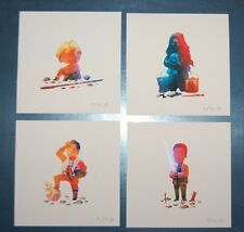 Olly Moss Star Wars The Force Awakens mini Print Set SDCC 2016 Rogue One