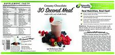 Best tasting Vegan & Gluten Free shake you will ever buy! 30 Second Meal 2 Cans